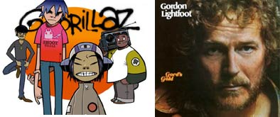 Gorillaz and Gordon Lightfoot