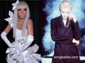 lady gaga madonna Lady Gaga Born This Way vs Madonna Express Yourself