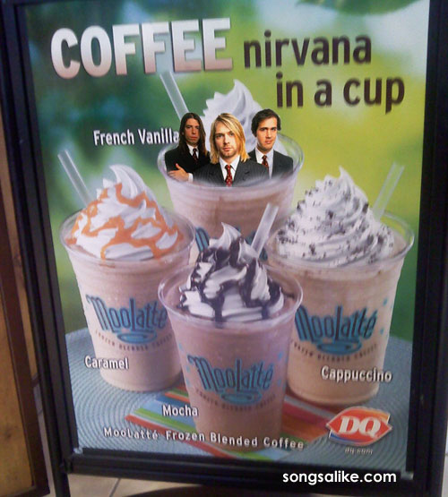 nirvana in a cup dairy queen cobain grohl novoselic Nirvana in a Cup: Dairy Queen presents Cobain, Grohl, and Novoselic