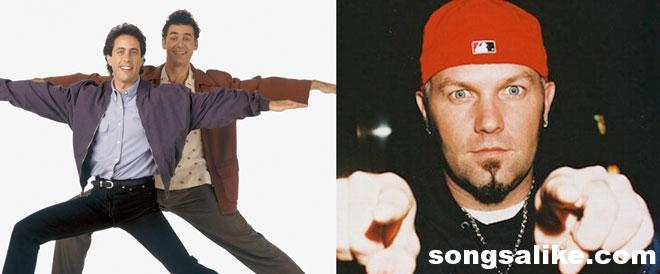 Limp Bizkit Fred Durst vs Seinfeld Theme Mash Up